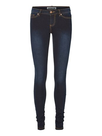 8c7e06e16902b EVE LW SKINNY FIT JEANS, Dark Blue Denim, large