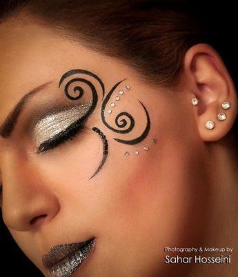 fantasy makeup @Diana Avery Avery Avery OpdenDries #maquillaje #makeup