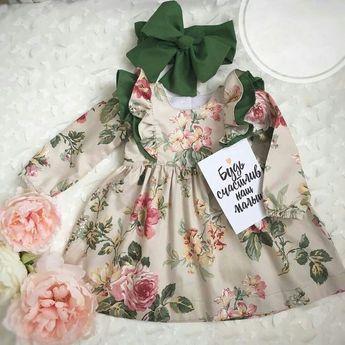 Details about Cute Toddler Kids Baby Girls Flower Summer Party Dress Sundress Clothes 0-5T
