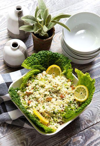 Lemony Cauliflower Salad | Italian Food Forever