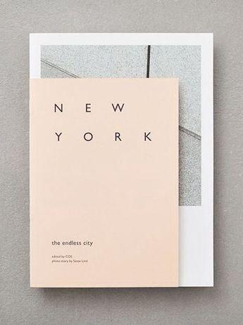 minimal nude notebook New York minimal font