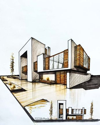 Home Design - Architectural Drawing