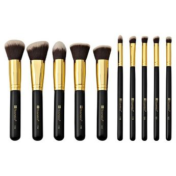 BH Cosmetics Sculpt and Blend Cosmetic Brush Set - 10ct