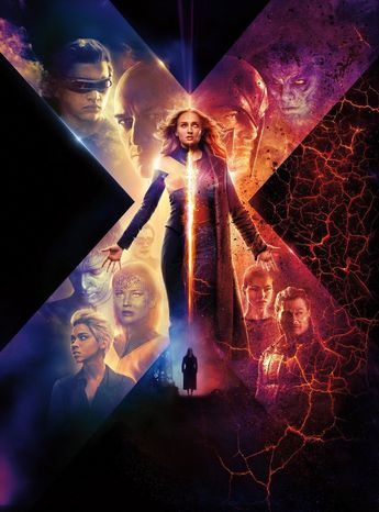 New Poster Art for X-MEN: DARK PHOENIX Surfaces and a New Trailer Is Coming Soon