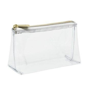 Sonia Kashuk™ Rectangle Clutch Makeup Bag - Clear