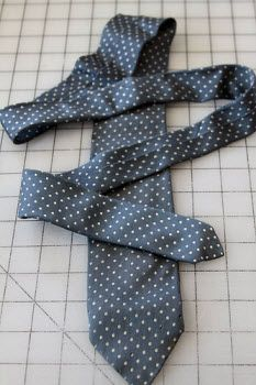 Tutorial: Preparing silk ties for memory quilts