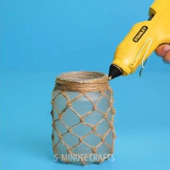 Decorating Glass Bored Jars: Ideas to Give Them a New Use. Amazing DIY