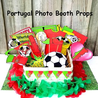 03347b7483d World Cup PORTUGAL soccer photo booth props - the ultimate fan accessory -  2018 FIFA Soccer