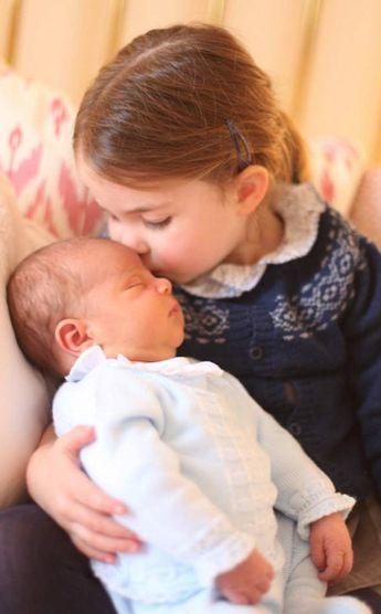 Les premières photos du prince Louis | Dans le boudoir de Kate Middleton
