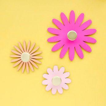 Flower Power DIY Wall Hook Kit