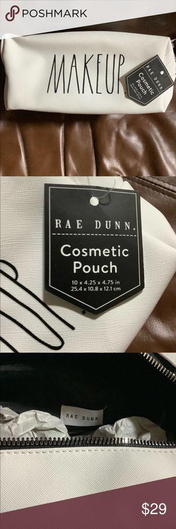 Rae Dunn makeup bag Vinyl brand new Rae Dunn Accessories
