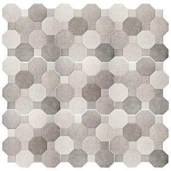 """Imagino 17.75"""" x 17.75"""" Ceramic Tile in Cement"""