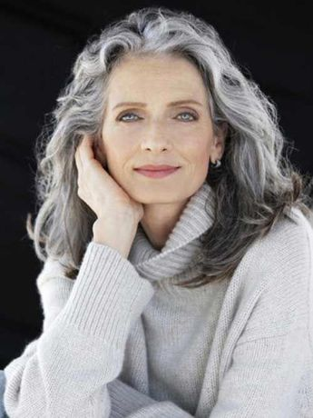 Hairstyles For Long Grey Hair Over 50 - Hairstyles Trends