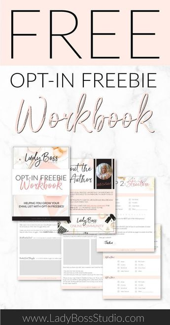 Free Resource Library Sign Up Page | Lady Boss Studio