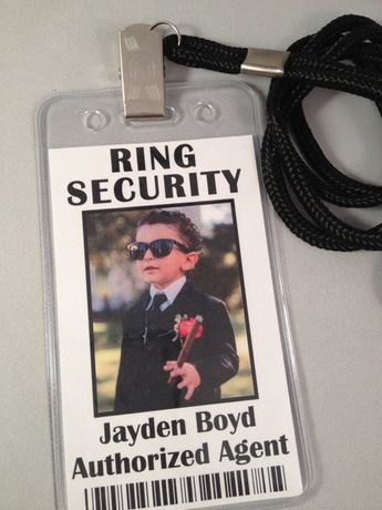 Ring Security ID Badge