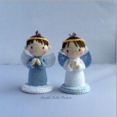 Crochet Free Pattern Angel Boy Girl Amigurumi X Mas