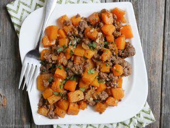 viande hachée aux carottes cookeo - recette cookeo facile.