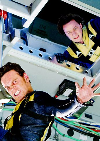 Michael Fassbender and James McAvoy - X-Men: First Class (2011)