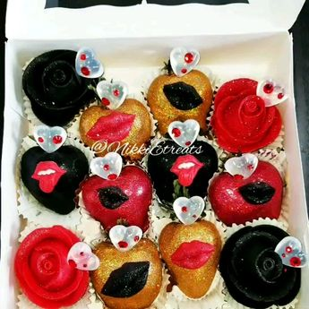 "Black, Red & Gold @patron Infused Rose Berries x @darealnikkie  Song ""Tip Her Out"" x @darealnikkie  #NikkiEtreats #blingberries #Diva #roseberries #roses #lips #chocolatecoveredstrawberries #chocolatestrawberries #chocolatestrawberry #chocolate #strawberry #infusedstrawberries #infused #chocolateheels  #highheels  #highheelshoes #chocolatehighheel #chocolatehighheels #chocolatehighheelshoes  #chocolatehighheelshoe #atlanta #atlart #atlantaart #atlstrawberries  #atlsweets #nowthatsludicrous"