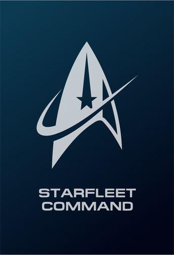 Star Trek Logo Flat Design Starfleet Command (2255 - Discovery)