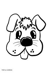Disegni Di Cani Da Stampare E Colorare Gratis Portale B