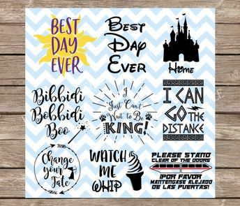 Disney svg bundle, heartbeat of a disne