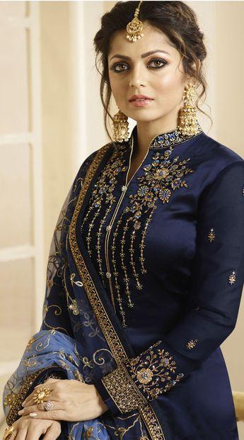 8e01c26e84 Lt Nitya Vol 126 Vaishnavi Georgette With Heavy Embroidery
