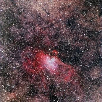 Messier 16; the Eagle Nebula is an emission nebula in the constellation Sagittar...,  #constellation #Eagle #emission #Messier #Nebula #Sagittar
