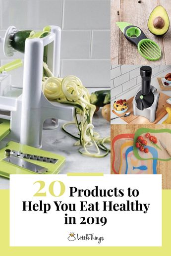 20 Products That Will Encourage You To Eat Healthier This Year
