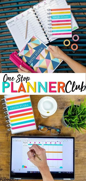 Join the One Stop Life Planner Club