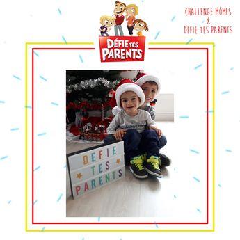 Des frères adorables pour le Challenge de Noël #DEFIETESPARENTS
