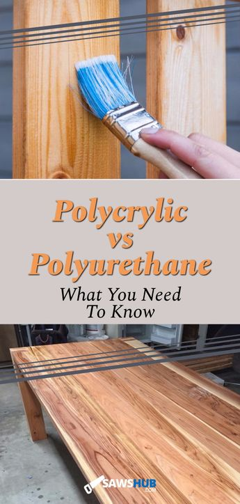 Polycrylic vs Polyurethane: When to Use Each Finisher