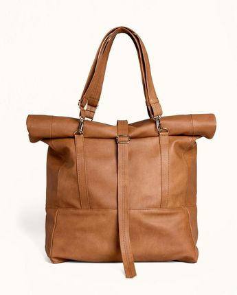 52cefc246a Persaman New York Cosimo Rolling Leather Duffel Bag