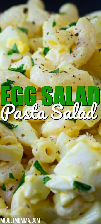 Egg Salad Pasta Salad