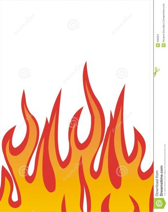 Flames Illustration Stock Images - Image: 499564