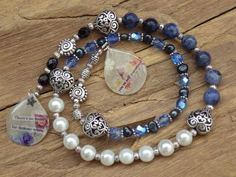 The Morrigan Pagan Prayer Beads Meditation Beads Witches