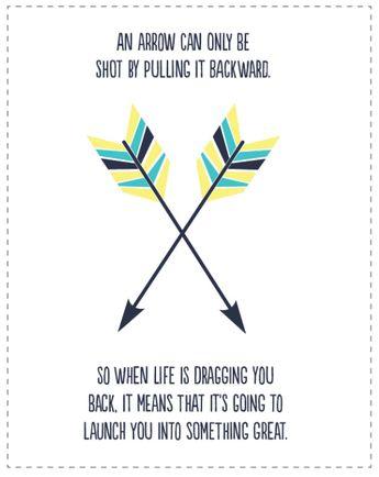 Arrow Printable Quote