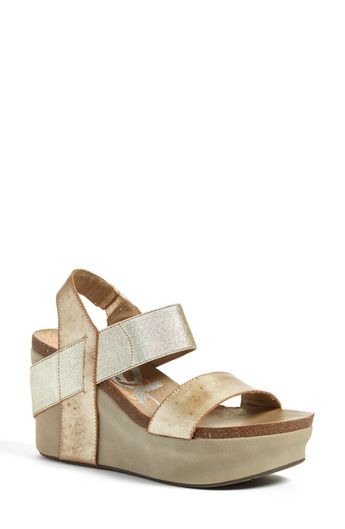 c1572bf3918a OTBT  Bushnell  Wedge Sandal available at  Nordstrom