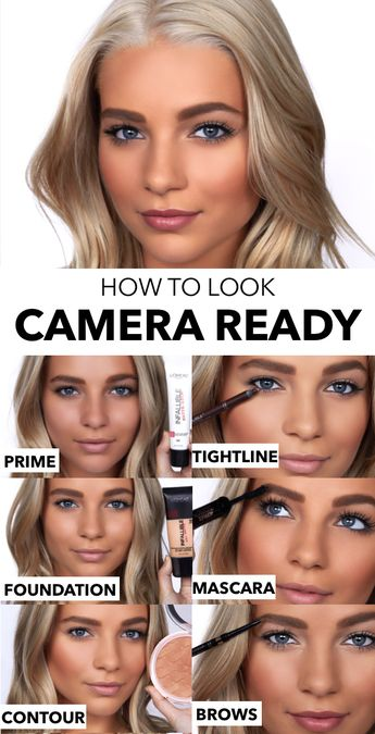 6 makeup tips for looking camera ready with L'Oreal Paris.