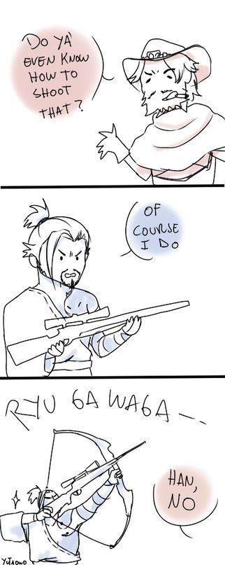 hanzo x mccree Ideas and Images | Pikef