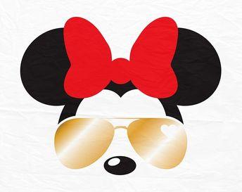36768fb409 Minnie Mouse Sunglesses Svg