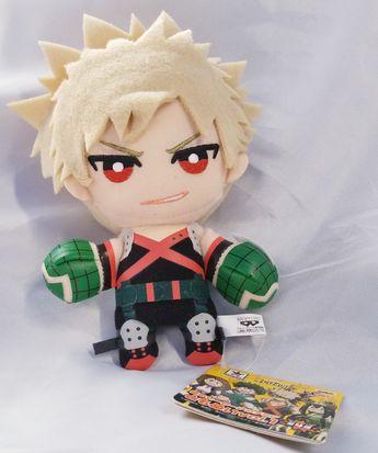 My Hero Academia Boko No Hero Banpresto Bakugo Katsuki Official Plush
