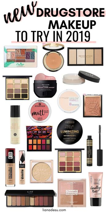 New Must-Try Drugstore Makeup 2019