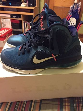 cheaper ce9f5 28a0b Nike Lebron 9 Swingman sz 11  fashion  clothing  shoes  accessories   mensshoes