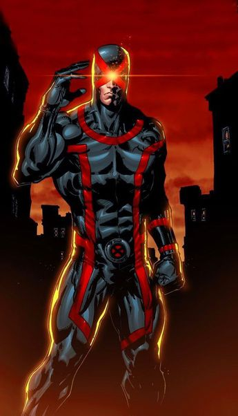 This is soooooo good, check out Cyclop from X- Men.....