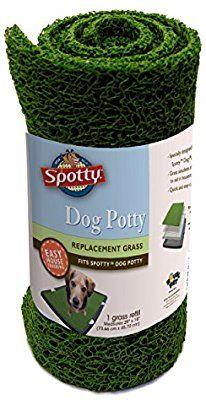 Amazon.com : Spotty Indoor Potty Replacement Pad, House Training Pet Puppy Dog Artificial Grass Rug Turf Pee Mat : Pet Training Pads : Pet Supplies