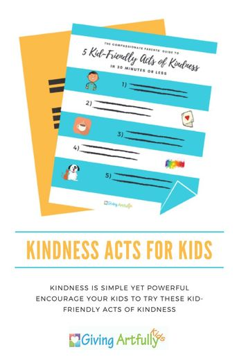 Kid-Friendly Acts of Kindness You Can Do in Less than 30 Minutes