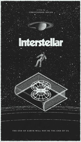 25 Incredible Fan-Made Interstellar Posters
