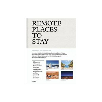 Remote Places to Stay - by Debbie Pappyn & David De Vleeschauwer (Hardcover)