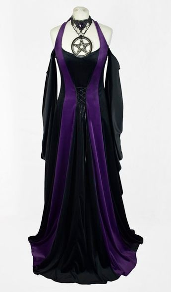 Wiccan High Priestess Gown from www.moonmaiden-gothic-clothing.co.uk